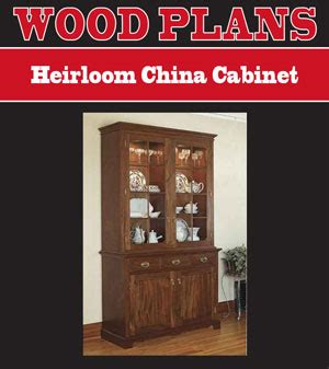 china cabinet woodworking plans china cabinet plans
