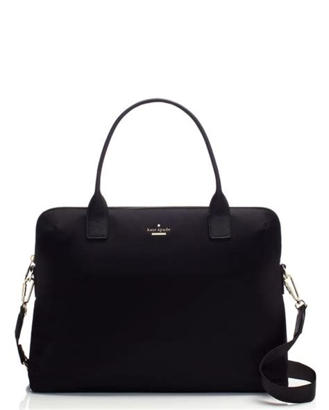 Kate Spade Daveney Laptop Bag Black kate spade classic daveney laptop bag in black lyst