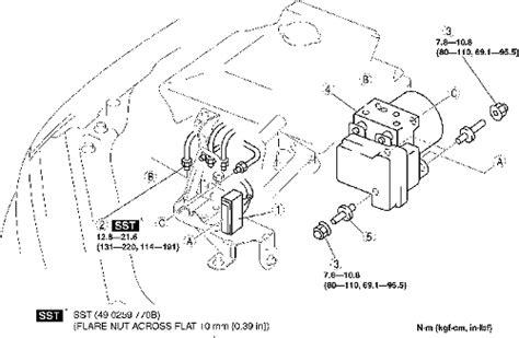 repair guides anti lock brake system hydraulic control module autozone com