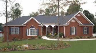Ranch House Designs Home Plan Homepw02945 1992 Square Foot 3 Bedroom 2