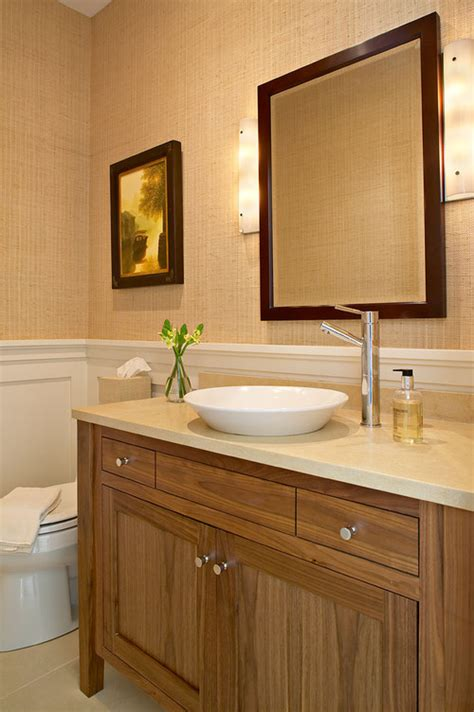 houzz bathroom wallpaper wallpaper for half bath