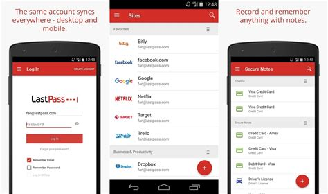 trade show lead card template lastpass finally gets official support for android oreo