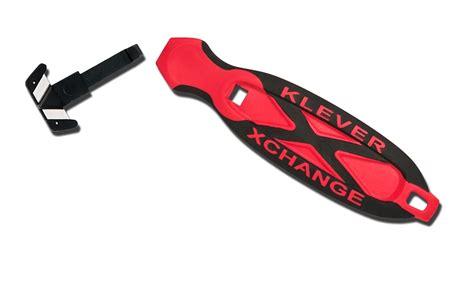 klever xchange box cutter klever xchange safety cutter concealed blades shop