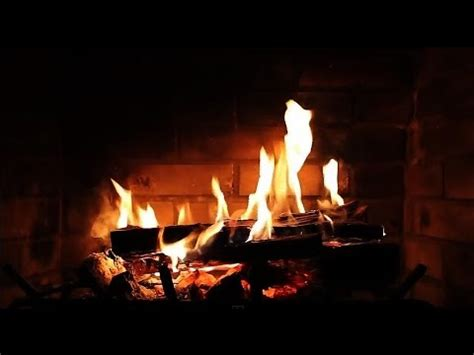 Picture Of Fireplace Burning by Burning Fireplace With Crackling Sounds Hd