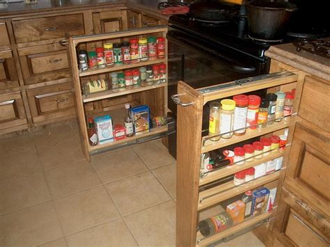 Kitchen Cabinets Spice Rack Pull Out Bloombety Kitchen Extras Cabinet Pull Out Spice Rack Cabinet Pull Out Spice Rack