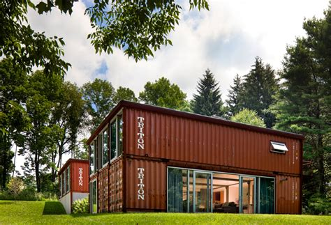 adam kalkin old lady shipping container house is a modern masterpiece