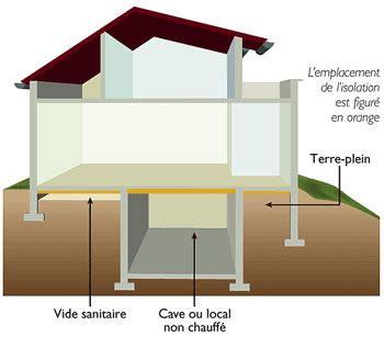 Isolation Plancher Bas Sur Vide Sanitaire 4662 by Isolation Sol Et Plancher Ooreka