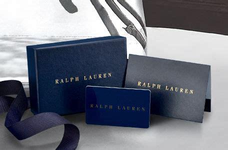 Ralph Lauren Gift Card - men s women s children s gifts gift ideas ralph lauren
