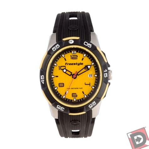 freestyle dive watches freestyle kus dive yellow