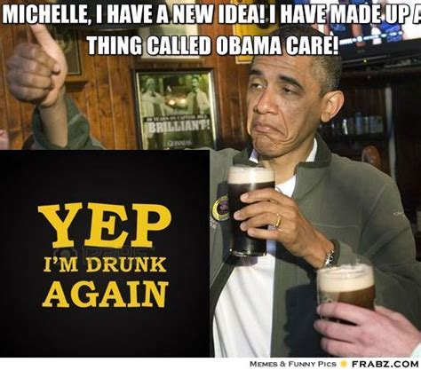 Obama Beer Meme - michelle i have a new idea i have made up a thing called