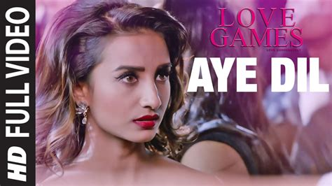 aye dilmoviesong aye dil full hd video song love games