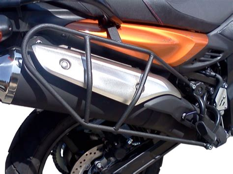 Strom Rack Pmr Suzuki V Strom Dl650 Side Luggage Racks 2012 2016