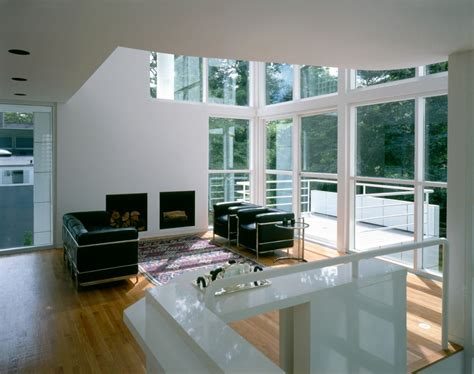 Open Floor Plan Living Room Giovannitti House Richard Meier Amp Partners Architects