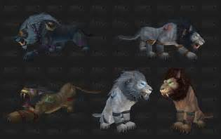 worgen druid colors feraltree troll and worgen druid forms