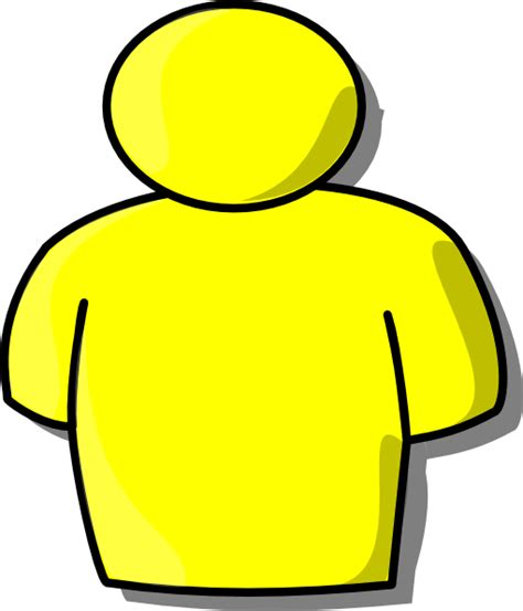 clipart persone yellow person clip at clker vector clip