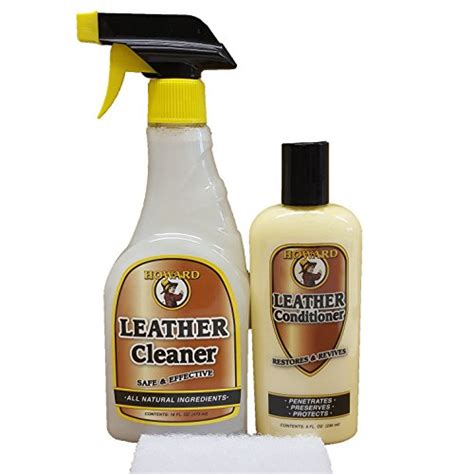 leather couch cleaner conditioner howard leather cleaner and conditioner kit leather