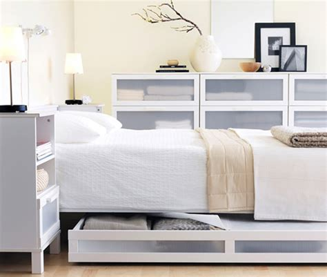 Ikea Bed And Mattress Set Bedroom Minimalist Ikea Bed Furniture Set In Clean White Best Ikea Furniture For Your Bedroom