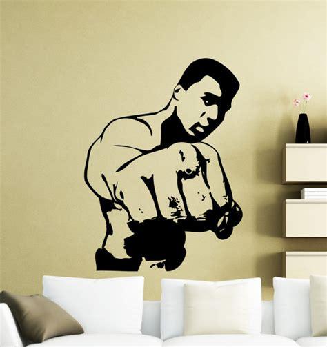muhammad ali stencil reusable diy muhammad ali wall sticker cassius clay boxer boxing sports