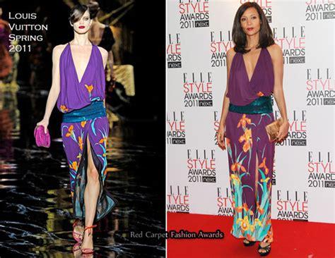 Catwalk To Carpet Thandie Newton Carpet Style Awards by Thandie Newton In Louis Vuitton 2011 Style Awards