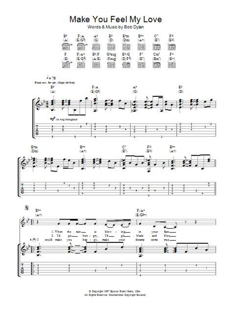 Feel My Love Guitar Chords
