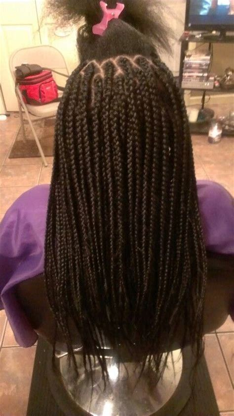 medium box braids with human hair rilbraidz braidery medium box braids mybraids mywork