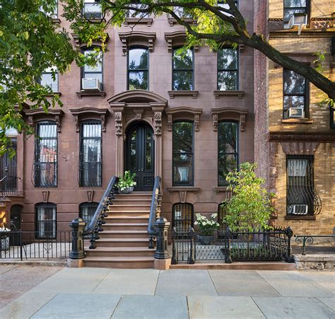 Kitchen Cabinets Brooklyn Ny restored brooklyn brownstone house with fresh contemporary