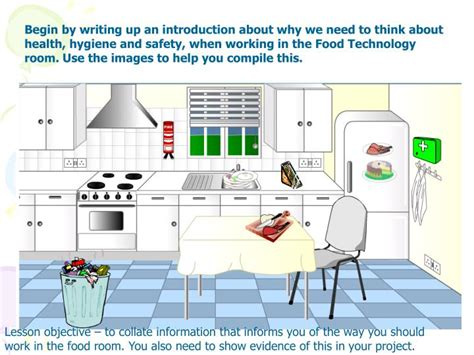 using food in the bedroom ppt health safety in the food technology room powerpoint presentation id 5779344