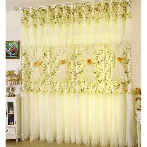 Sheer Lace Curtains Comtemporary Customize Sheer Curtain With Lace Curtain