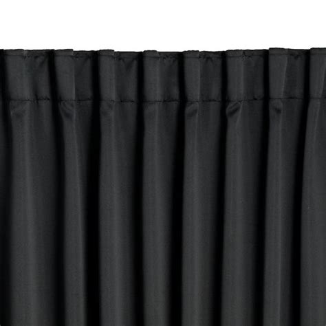 curtains jysk blackout curtain amungen 1x140x175 black jysk