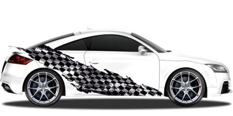 Aufkleber Auto Zielflagge by Autoaufkleber Mit Race Designs Als Seitendekor F 252 R Auto