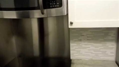 installing a stainless steel backsplash youtube