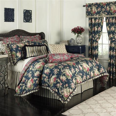 waverly bedding sets waverly waverly sanctuary rose 4 piece bedding collection