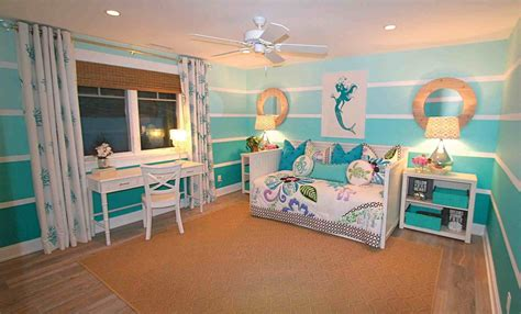 curtains for beach themed room the images collection of lovely girls beach bedroom decor