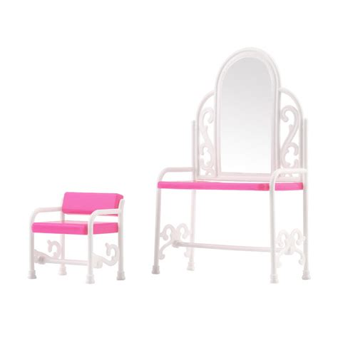 bedroom table and chair set new dressing table chair accessories set for barbies