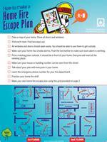 fire escape plans for home nfpa basic fire escape planning