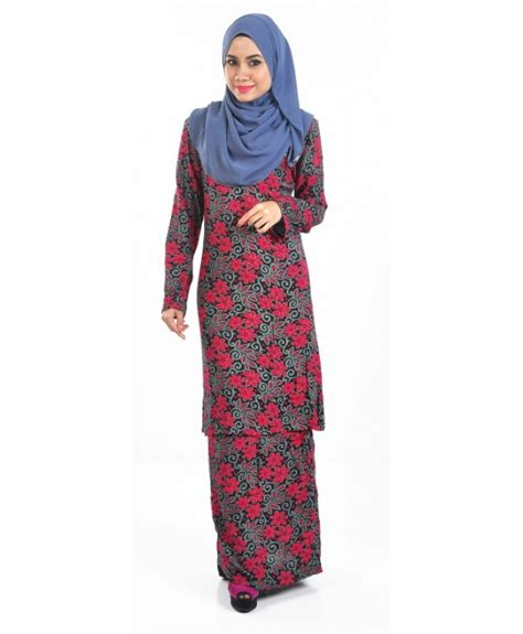 Baju Muslim Trendy Baju Kurung Trendy Malaysian Muslim Dresses Hijabiworld