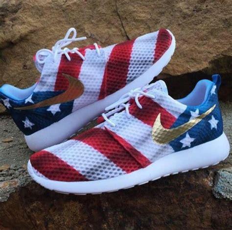 american flag sneakers shoes nike nike sneakers american flag nike roshe run