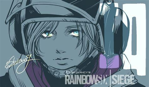 X Anime Siege by Gsg 9 Operative Iq R6 S Rainbow Six Siege