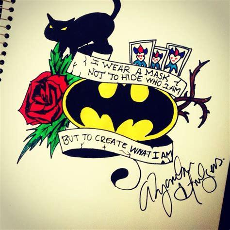 batman tattoo sketch 17 best images about batman tattoo ideas on pinterest