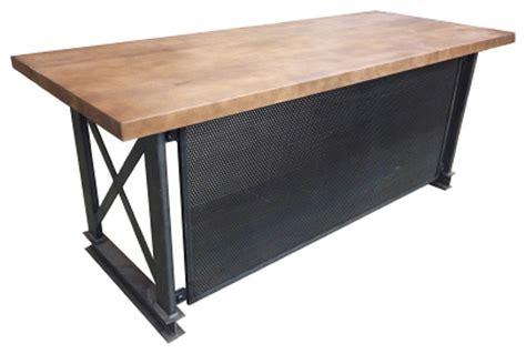iron age office  industrial carruca office desk