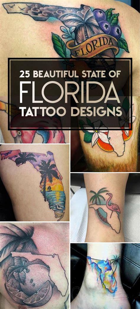 florida tattoo ideas 25 beautiful state of florida tattoos tattoos