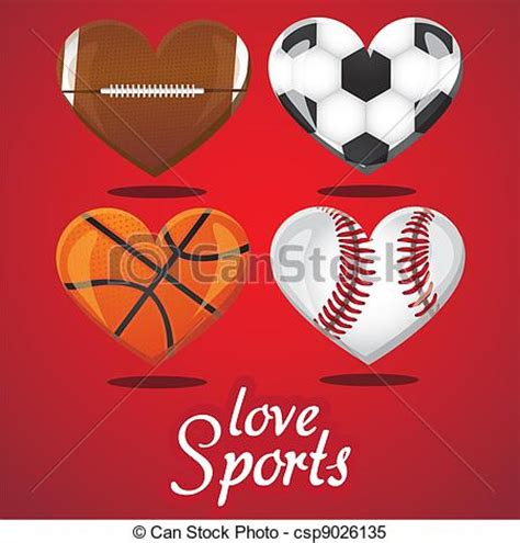 imagenes de i love hockey clipart vector of i love sports textures of different