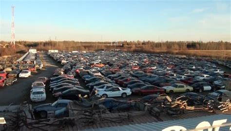 camaro salvage yards check out this f junkyard in canada