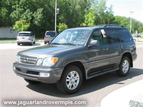 2009 lexus lx470 yse car of the week 2004 lexus lx470 the about cars
