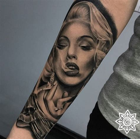 marilyn monroe tattoo tattoo collections