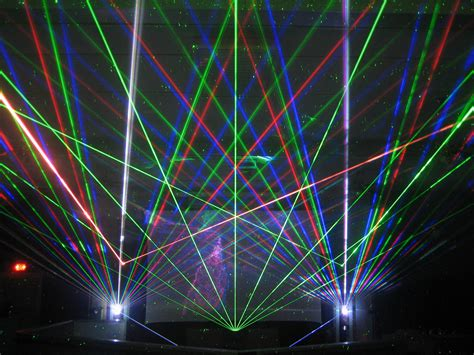 Outdoor Laser Light Show Laser Beam Show Pictures Laser Spectacles Inc