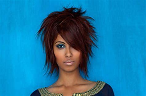 rusk hairstyles short and choppy hair cuts split endz salon