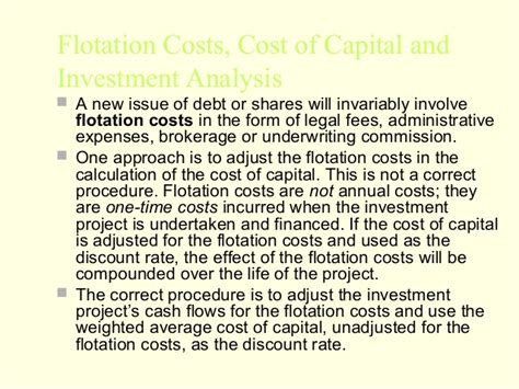 Mba Project On Cost Of Capital by Mba 2 Fm U 3 Cost Of Capital