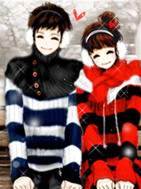 wallpaper animasi couple gambar kartun korea sweet korean cartoon planet cinta