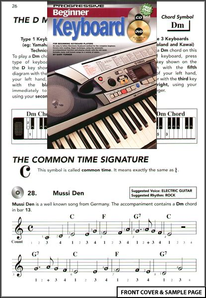 keyboard tutorial dvd beginner keyboard music book tutor dvd cd new ebay